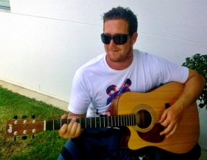 Local Joel Mak will be playing at the Rainbow Beach Hotel on New Year's Eve