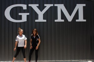 Bec Hodgetts welcomes Fitness Instructor, Emillia McAuliffe to the Rainbow Beach Gym