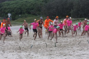 Plenty of fun on the break up day - but they'll be back on the beach January 27!