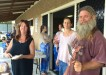 Members of the Cove and Bay Youth Project team raised over $260 at the Cooloola Cove Markets