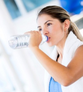 Make sure your increase your fluids over February