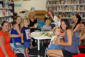 Families having fun at the free First 5 Forever program in Rainbow Beach and Tin Can Bay