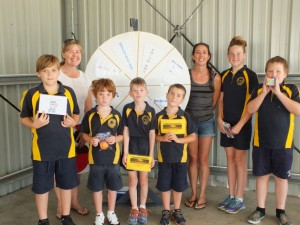 Parents and students can look forward to the new Gotchya wheel at assembly