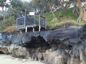 Council - rainbow beach council steps WEB