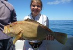 Vanessa caught her very own Maori cod