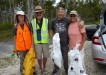 Cooloola Cove Residents and Friends Inc: Sarah Mitchell, Len Druce, Paul Dolphin and Lesley Porter