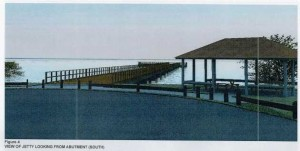 proposed council jetty for Tin Can Bay