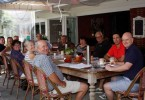 Mayor Mick Curran and Cr Mark McDonald both attended the breakfast meeting at Arcos last month for the Rainbow Beach Chamber of Commerce and Tourism