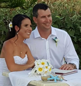 Congratulations: Joshua Mason married Kelly Hagan