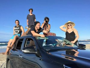 ROADTRIP Instagram superstars did the panoramic Pacific Coast Way drive over eight days to kickstart a tourism campaign by TEQ in partnership with Toyota Australia