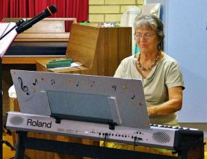 Sue Flower and Pam Graham will be playing mandolin and piano at the next classical concert