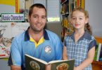 Principal Micheal Grogan invites community members to read your favourite Aussie book to the kids