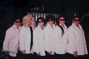 Fishing Classic ladies Leanne Modin, Maureen Mitchell, Kyla McIntosh, Shelly Jones, Dolly and Louise Shadbolt