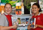 Tabitha Pilkington and Kia Paddy said there were so many interesting books