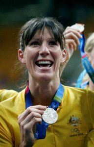 Triple Olympian and OA, Rachel Sporn will be at the Pig Day Out to help prevent Melanoma
