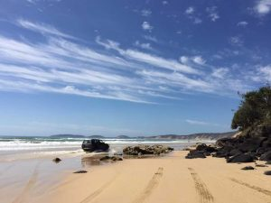 We are top of the list for 'Ten of the best Australian beach drives' Image courtesy Instagram @rainbowgetaway