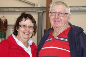 Margaret and Peter Grant at Pig Day Out