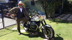 Greg Inglis, Distinguished Country Gent, ready to ride