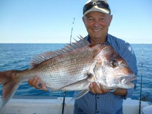Werner from Gympie with a nice snapper