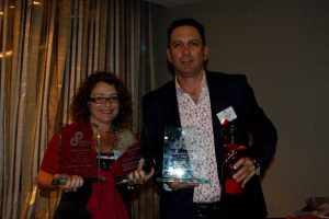 Michelle and Heatley Gilmore were thrilled with winning Best Advertisement and two Best Newspaper in Country Queensland trophies last month