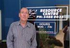 Resource Center Volunteer Lewis Kelly