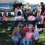 Debbie Knight entertained granddaughter Everleigh McDonagh