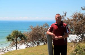 Bruce Lange looking forward to bigger and better things happening at the Surf Lifesaving Club
