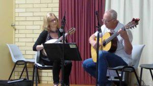 Fiona Horbach and Werner Ruecker: mandolin and guitar