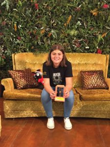 Queensland School of Film and Television Scholarship student and local lifesaver, Floss Adams