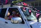 4x4 pink run last week end raised over $47000 with 455 cars coming together for breast cancer awareness
