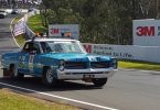 Congratulations Sam Mitchell of Fiji Time - rewarded for his massive fundraising efforts this year (and every year) he drove the Bathurst track behind the supercar drivers with 9 other bash cars