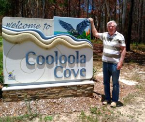 Cooloola Cove Residents and Friends new president, Graham Langdown