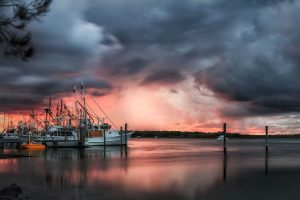 Camera Club - Julie Hartwig - Stormy Sunset