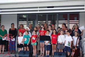 Carols - Well done local singers and members of the school choir