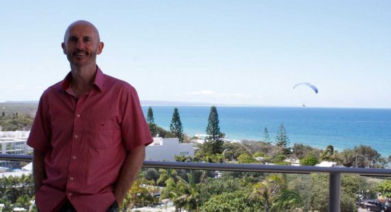 """Daz Gauld, OAM says he cannot afford this lifestyle in Sydney: """"Malcolm Turnbull doesn't have this view!"""""""