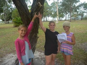 Ocean, Hannah and Indigo discover a clue in the scavenger hunt - the CCYAP are hosting a family fun day day, team events and more in January