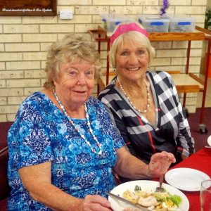 Norma Simpson and Colleen Yallowley
