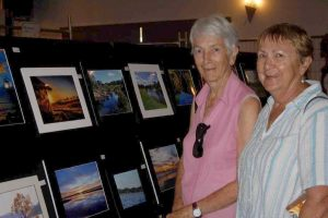 Enjoy a glass of wine whilst you browse the work of our very talented locals - January 21-22