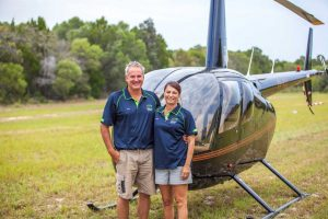 Glen and Diana Cruickshank invite you to tour Queensland's best kept secret in a personalised helicopter ride