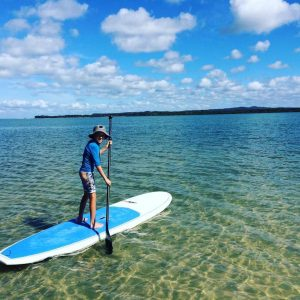 With Council, the team from Epic Ocean Adventures are offering Stand Up Paddleboarding at Pelican Bay on January 16