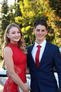 Flynn Ladner with Baleigh Campbell