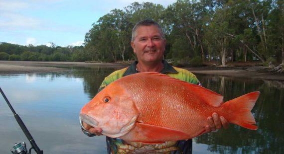 Tony Zahn with a nice Red Emperor
