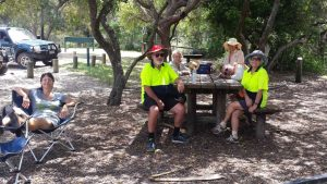 Clean Up Australia Day - When the hard work is done - most volunteers look forward to a BBQ or refreshments!