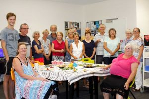Lovers of books congregated for a special Valentine's morning tea last month at Rainbow Beach Library