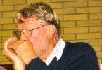 Len Druce on harmonica at Music Plus