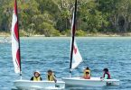 "A four day ""Discover Sailing"" was held in the school holidays Image Julie Hartwig"