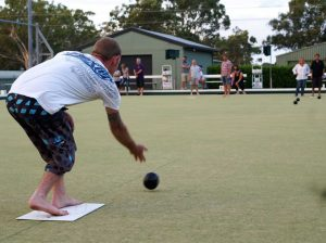 Fancy some barefoot bowls - venture to Tin Can Bay Country Club for a roll up on April 15!