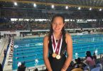 Jasmin White scored a bronze in breaststroke and gold in freestyle in a state wide competition last month