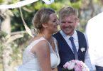 Jessica Cochrane married John Baker in Rainbow Beach last month