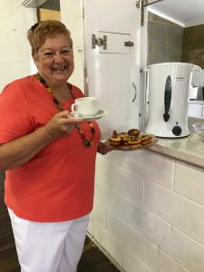 Irene Manwaring says you're welcome to join the CWA for a crafty Community Morning Tea on April 5